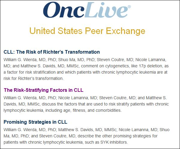 Promising Strategies in CLL