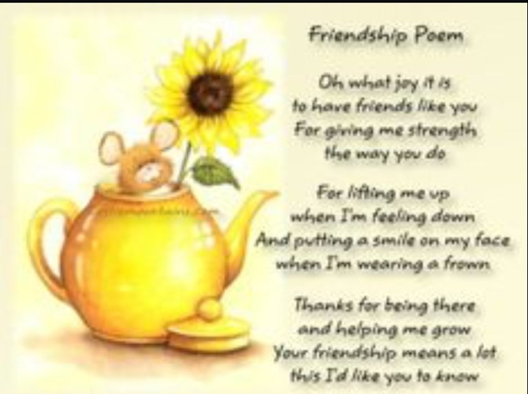 Thank You For Your Friendship Wealth Of Information And Prayers