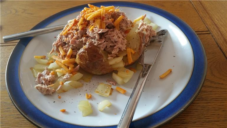 Sunday Lunch Jacket Potato With Tuna May Weight Loss Nhs