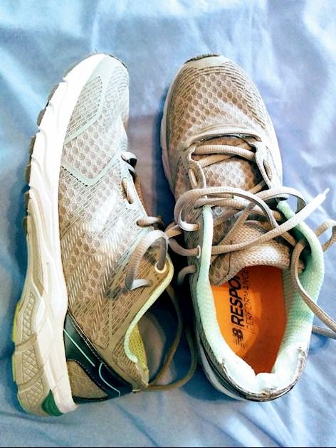 7413f4171ea I Mo Farahed my shoes! The Lidl runni... - Marathon Running ...