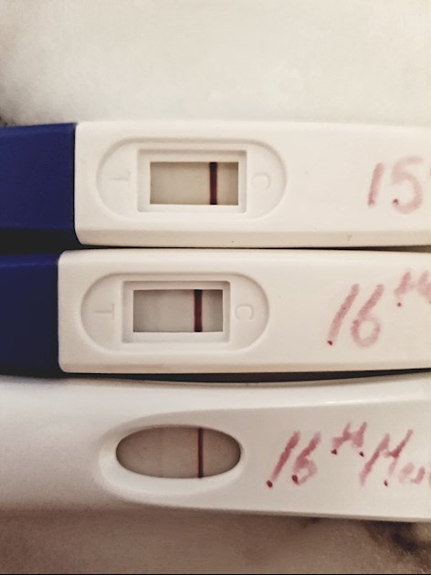 Bleeding after BFP: I took a pregnancy test yesterday    - NCT