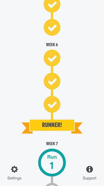I M Officially A Runner Week 6 Done Toxic 12 Couch To 5k