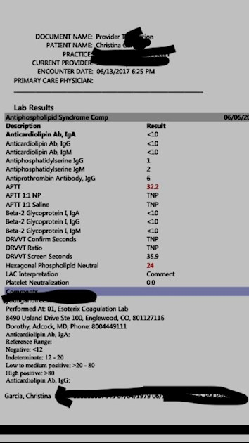 Learn These Antiphospholipid Syndrome Test Positive {Swypeout}