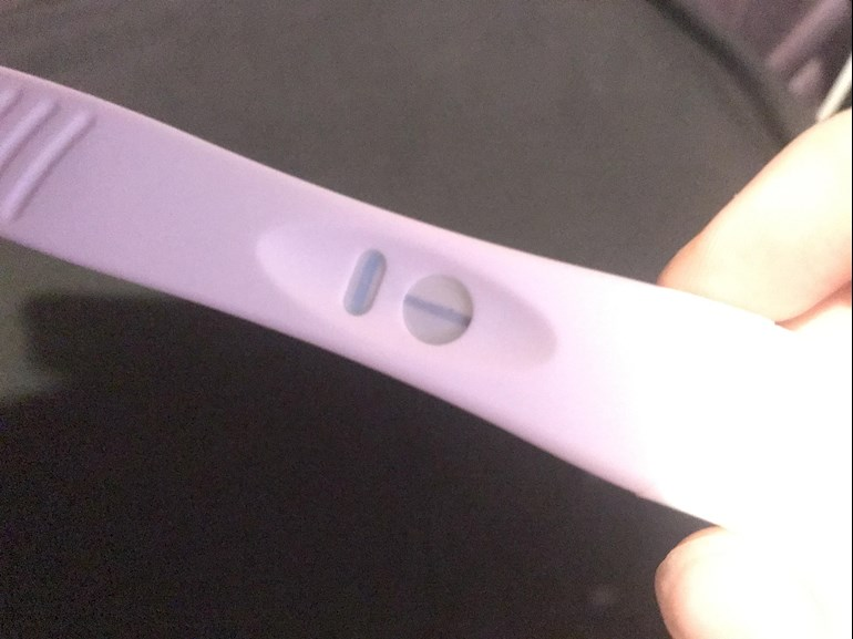 Is My Pregnancy Test Positive Or Nega British Pregnancy