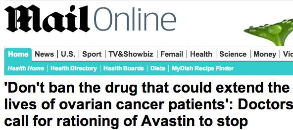 Avastin In The News An Article On A Campaign To My Ovacome