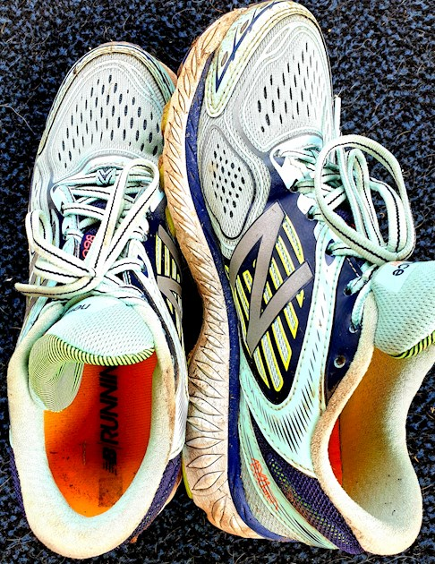 Is it OK to wash running shoes in the
