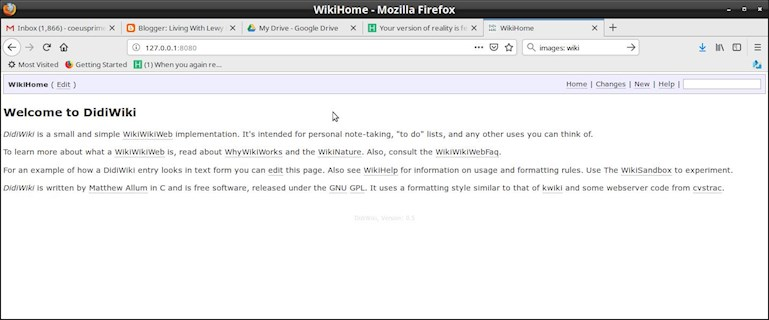Project: WikiJeff: Hi gang, Jeff Cobb    - Memory Health: Al